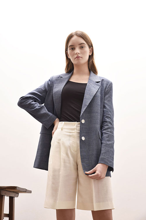 ADS-JKD102-60 AIDEN SINGLE JACKET (Blue)