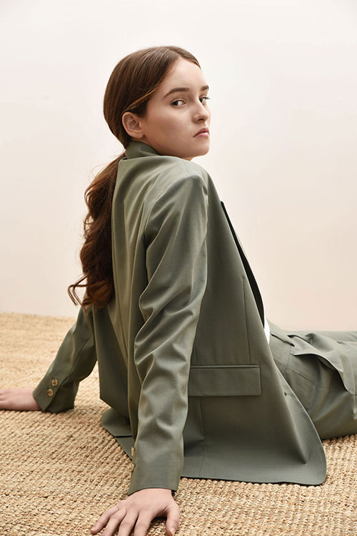 ADS-JKD102-20 AIDEN SINGLE JACKET (Khaki)