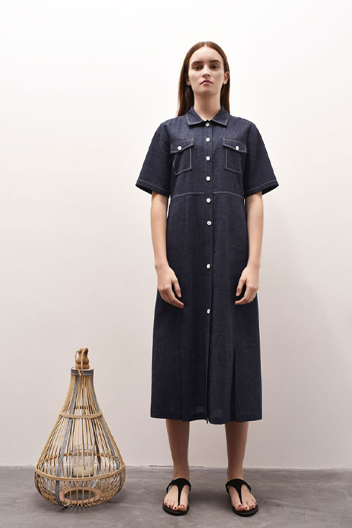 [2차 리오더][손담비 착용]ADU-OPE502-10 NORMANDY ONE-PIECE (Navy)